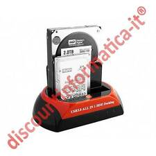 Docking station Hard disk 2,5 3,5 Sata/Ide All in One HD usb LETTORE DA TAVOLO