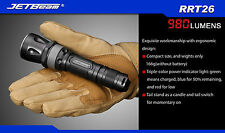 JETBeam RRT26 980Lumens XM-L2 T6 LED Flashlight Police Strobe Standby Trekking