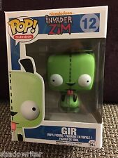 FUNKO POP INVADER ZIM GIR #12 EXCLUSIVE RARE RETIRED MINT BOX R2S GR8 FOR XMAS