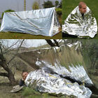 Simple Outdoor Emergency Folding Tent Blanket Sleep Bag Survival Camping Shelter