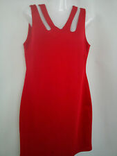 ***STUNNING***2x red black Ladies womens dress size 14 V.G.C (0.6)