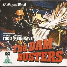 THE DAM BUSTERS - Richard Todd, Michael Redgrave - Great British War Film *DVD*