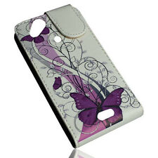 Design No.6 Flip Tasche Cover Case Handy Hülle für Sony Ericsson  ARC  ARC S