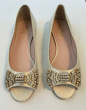 BRAND NEW Kate Spade New York 'Vanna' Skimmer Flat Shoe.Size US 6.5 UK 4