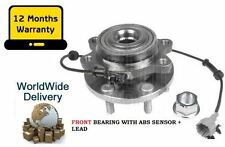 FOR NISSAN NAVARA D40 2.5TD 2005  FRONT WHEEL BEARING HUB ASSEMBLY KIT WITH ABS