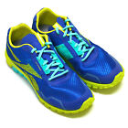 Reebok RealFlex Run 2.0 Shoes V51989 Blue Green Mens Running Sneakers All Sizes