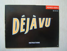 Deja Vu NES Instruction Booklet for Nintendo Manual Only No Game