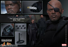 Captain America Winter Soldier NICK FURY Sixth Scale Figure Hot Toys Sideshow
