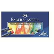 Faber-Castell Oil Pastel Crayons Studio Quality Box of 12 Professional