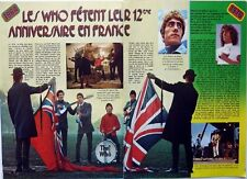 THE WHO =  2  pages 1976 french CLIPPING_ROGER DALTREY / COUPURE DE PRESSE