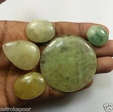 231.60 CT Green Aquamarine 5 Pcs Natural Superb Quality Wholesale Lot Gem W915