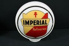 Imperial Refineries Gas Pump Globe Sign Lot 50