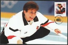 CANADA #2706 - SANDRA SHMIRLER, CANADA'S OLYMPIC GOLD in CURLING - MAXICARD