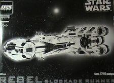 NEW Lego Star Wars 10019 Rebel Blockade Runner UCS MISB Free USA SHIPPING