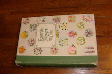 FAVORITE FLOWER IN COLOR HB BOOK, 1949, 634 pages, WISE & CO PUBLISHER