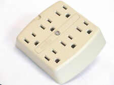 Lot of 12 Leviton Electricord A-1499-1/C-IV 6-Outlet Adapter NEW
