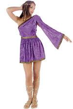 RG Costumes Women's Purple Adult Roman Toga Short Dress Size Small 1-3