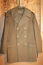 WW2 U.S. Army Officers Doeskin Wool O.D. Uniform Coat, Named to Lt. F.A. Goll
