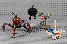 LEGO Star Wars - Dwarf Spider Buzz Imperial Probe Droid Treadwell Minifigure