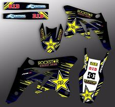 1992 1993 KAWASAKI KX 125 250 GRAPHICS KIT KAWASAKI KX250 MOTOCROSS DECO DECAL