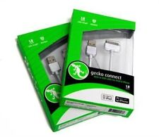 Gecko Gear Dock to USB Connector - Dock to USB Cable for iPod/iPad, iPhone