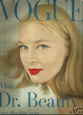 Vogue May 1957 Beauty Issue- Margaret Mead- Pulitzer Art Collection- Cole Porter
