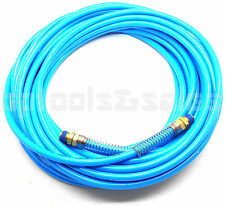 "1/4"" NPT Fitting x 50 FT Air Compressor PU Hose Roofing Framing Carpentry"
