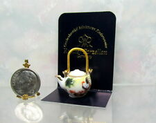 Dollhouse Miniature Reutter Japanese Tea Pot