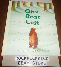 MY STORY TIME LIBRARY BOOK - ONE BEAR LOST -BRAND NEW-