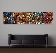 MARVEL COMICS - AVENGERS MONTAGE - MASSIVE - TOP QUALITY GIANT POSTER ART PRINT