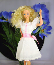 Vintage 1983 Happy Birthday Barbie #3 3rd Wearing My First Dress 1875 from 1983