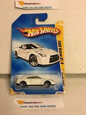 #2 2009 Nissan GT-R #1 w/ VARIATION Dark 10sp Rims * 2009 Hot Wheels * B8