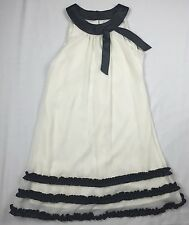 Rare Editions Black & White Special Occasion Wedding Festive Dress Size 12