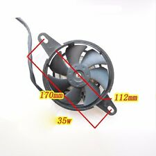 Oil Cooler Water Electric Radiator Cooling Fan Chinese ATV Quad GoKart Bike