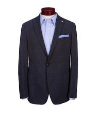 DANIEL CREMIEUX Lenox Ave. $275 navy with suede elbows sport coat blazer XL NWT