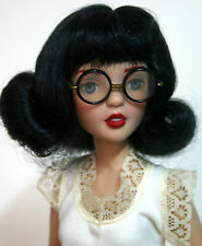 Black Wig with Bangs Size 4-5  Agatha Primrose Tonner - Sabrina