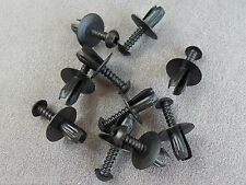 10X Mounting Clips Screw rivets Divider Wheelhouse Bumper
