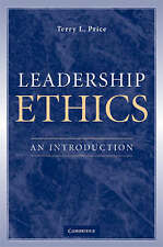 Leadership Ethics: An Introduction by Terry L. Price (Paperback, 2008)