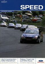 Speed 2/2001 - Ford Motorsport - u.a. Puma-Cup