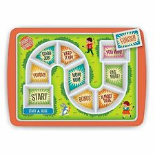 NEW Fred and Friends Dinner Winner Kids Fun Game Plate Tray Meal Time