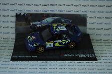 VOITURE RALLYE SUBARU IMPREZA WRC97  RALLYE MONTE CARLO 1997 1/43 EME IXO ALTAYA
