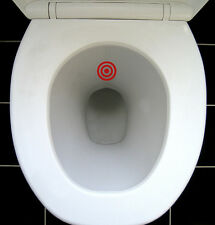 Toilet Target Funny Decal   Husband Boys Miss Pee Yellow Clean Mother Bathroom