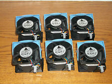 Lot of 6 Dell PowerEdge 2850 Server Case CPU Fans W5451 H2401 Cooling Fan