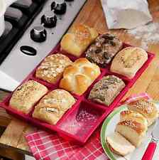 9 Cup Mini Cake Loaf Pan Food Grade Silicone Brownie Mold Homemade Soap Mould