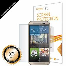3x Anti-Scratch HD Clear Screen Protector Shield Guard Saver Film For HTC ONE M9
