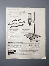 R&L Ex-Mag Vintage Advertisement: Johnson Enlargers 1950's
