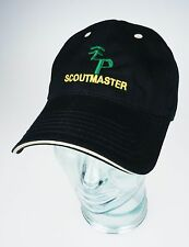 ScoutMaster Black Baseball Cap Scout Master Hat Free Shipping