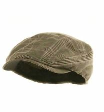 MG Men's Plaid Ivy Newsboy Cap Hat