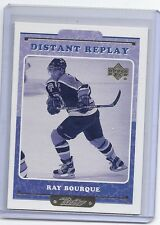 99-00 1999-00 UPPER DECK RETRO RAY BOURQUE DISTANT REPLAY 1 BOSTON BRUINS