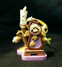 Disney Beauty and the Beast Lumiere and Cogsworth Christmas Ornament